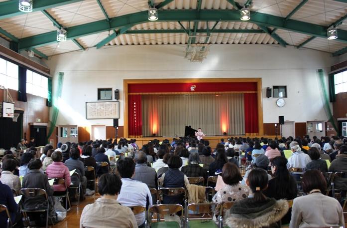 11/19福岡市立愛宕浜小学校にて