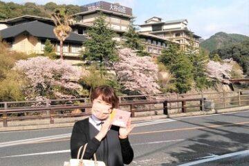 金子みすゞさんの故郷・長門市の大谷山荘様へCD納品に伺いました